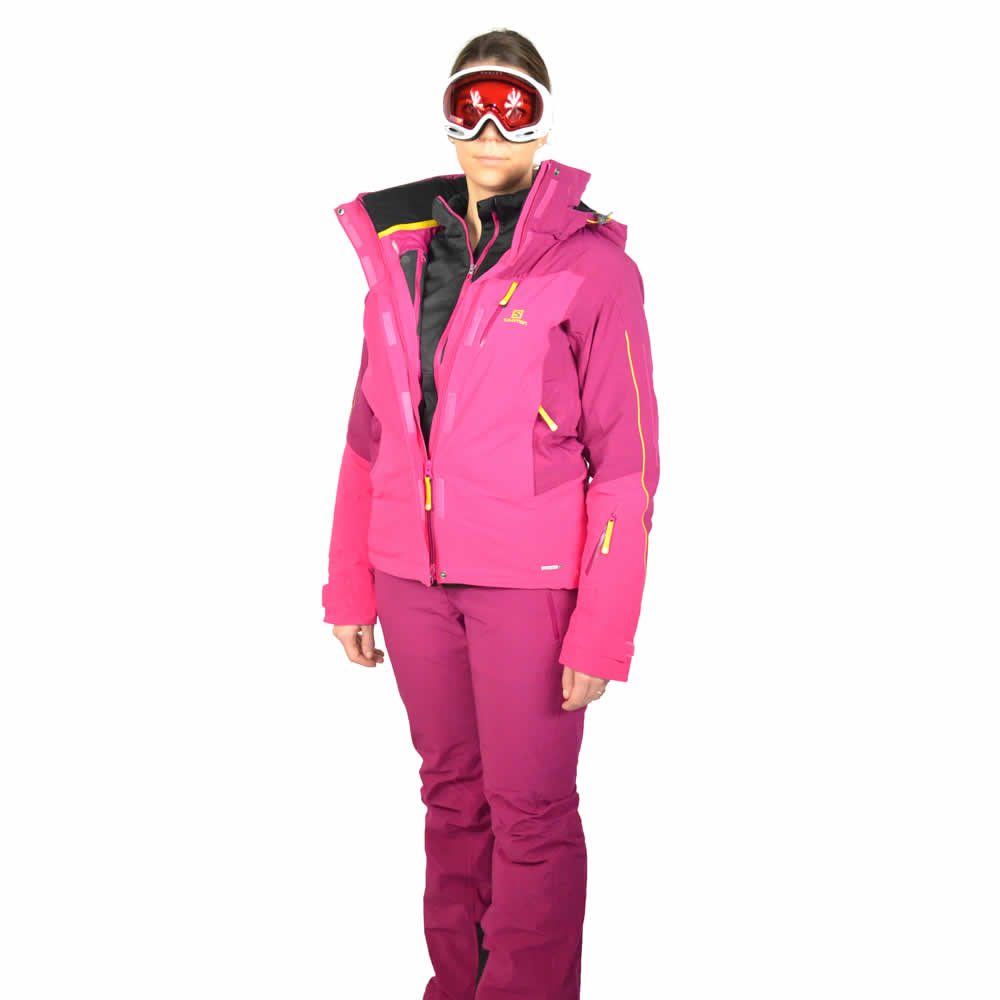 tenue de ski salomon